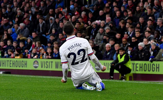 Christian Pulisic takes his chance by scoring hat-trick in win over Burnley