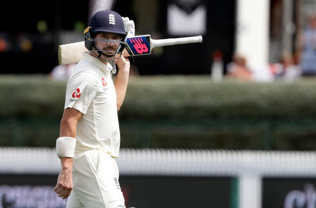 Burns said he concentrated on accumulating runs after scoring a century