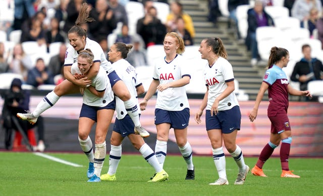 Rianna Dean scored the only goal in Tottenham Women's win over West Ham