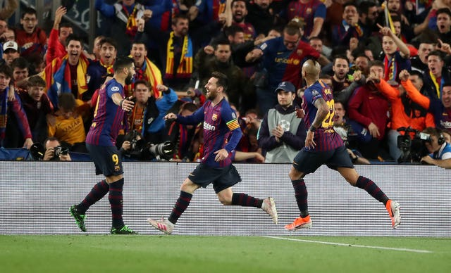Barcelona are the reigning Spanish champions