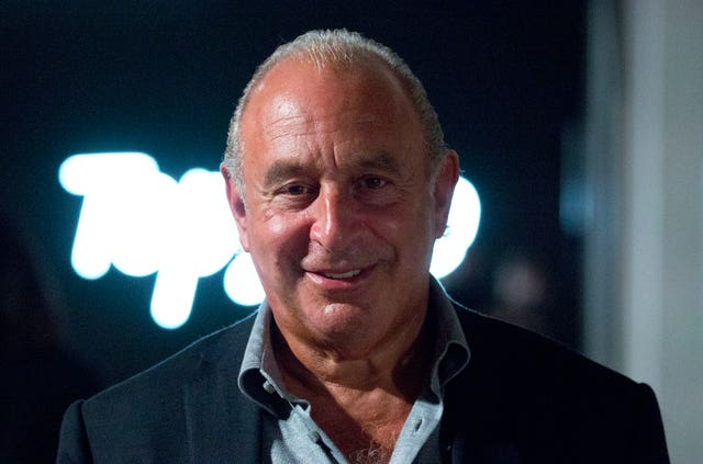 Sir Philip Green court case