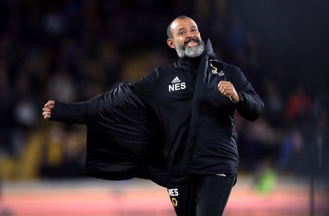 Nuno Espirito Santo is eyeing a top-seven finish for Wolves