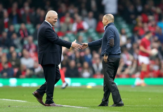 Warren Gatland (left) and Eddie Jones