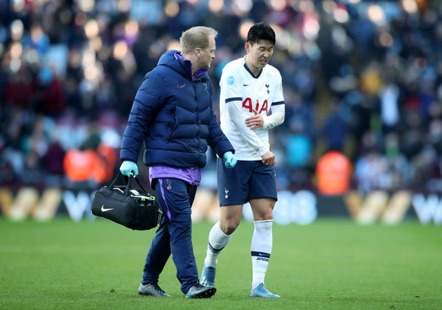 Son Heung-Min is recovering from a fractured arm
