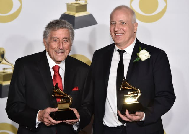 60th Annual Grammy Awards – Press Room