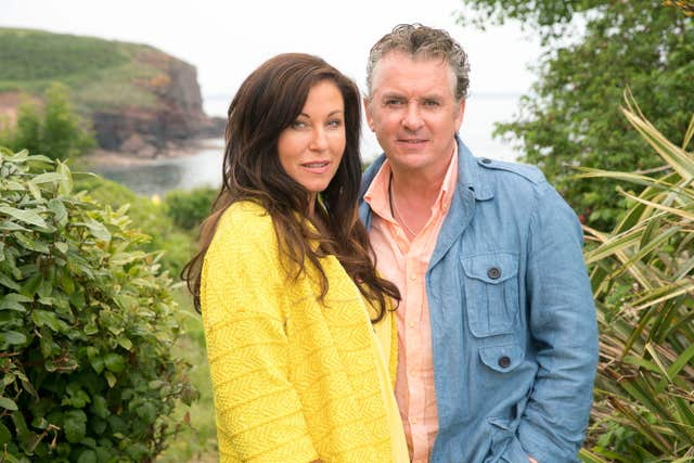 Kat and Alfie Moon in Redwater (BBC)