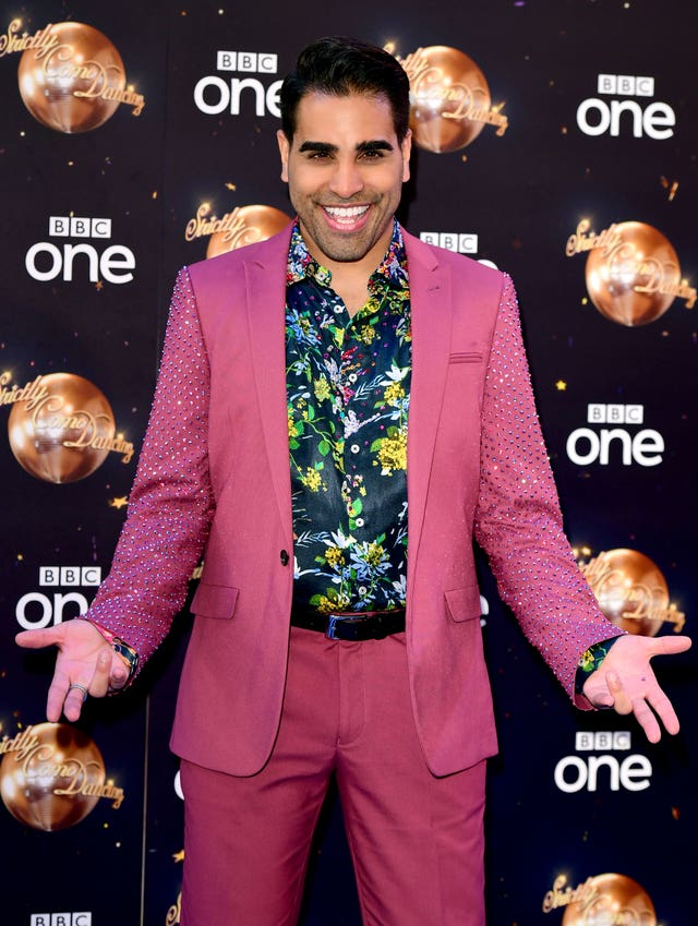 Dr Ranj Singh at the Strictly 2018 launch