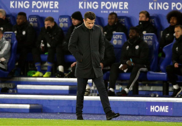A run of two wins in 10 matches has heaped pressure on Everton manager Marco Silva going into the Merseyside derby.