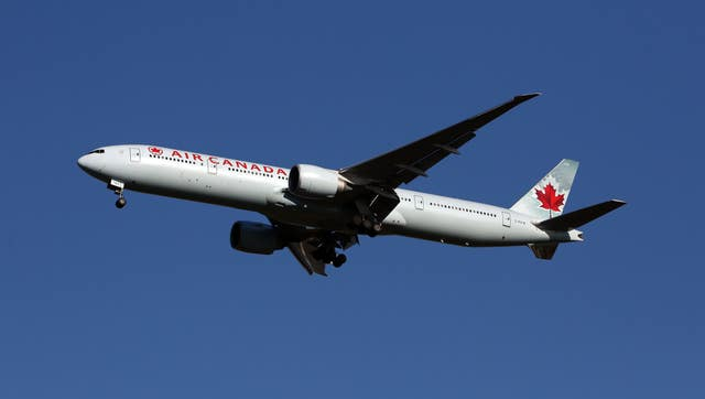 A flight from the UK to Toronto takes between eight and 10 hours