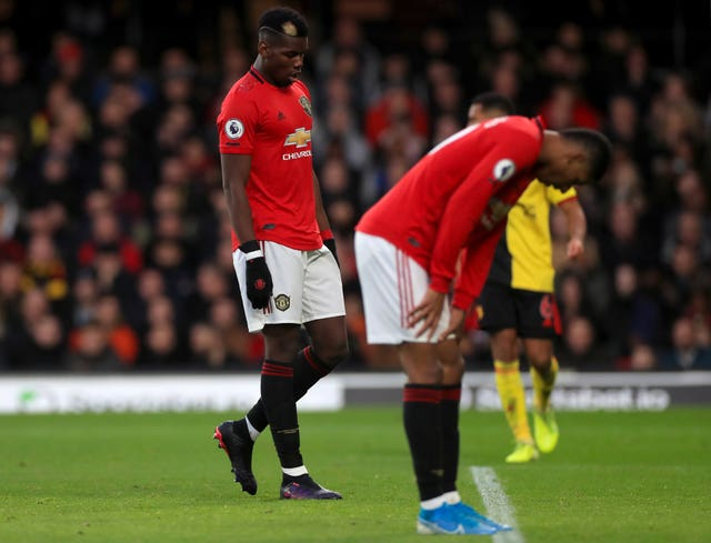 Paul Pogba and Marcus Rashford have been dealing with injury issues