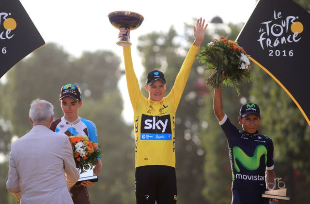 The Tour de France, won four times by Chris Froome, may be hosted in Britain in some part in the future