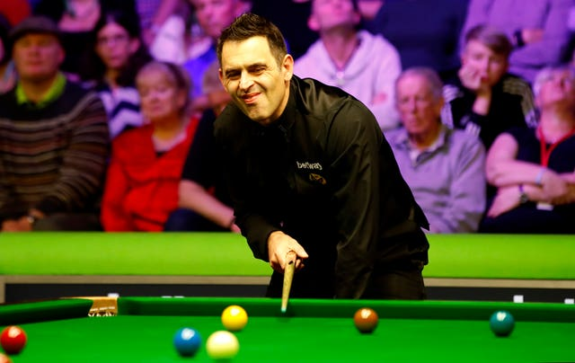 Ronnie O'Sullivan says he is