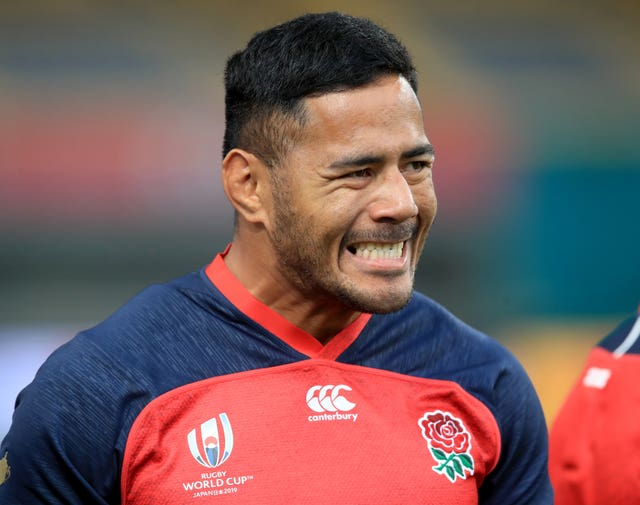 Manu Tuilagi suffered a groin injury against France