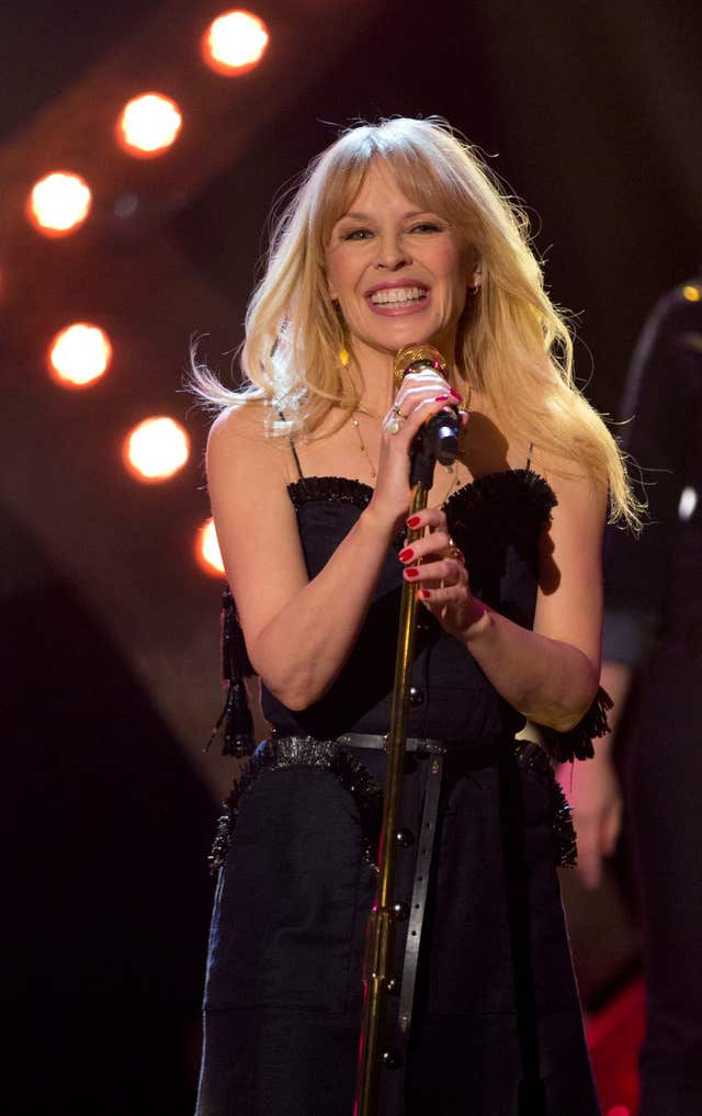 Kylie Minogue (Isabel Infantes/PA)