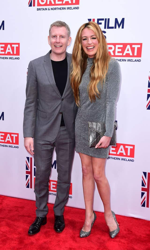 Patrick Kielty and Cat Deeley (Ian West/PA)