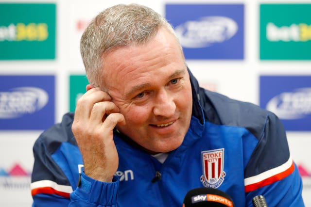 Paul Lambert watched last night's game from the stand