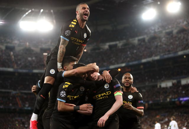 Manchester City pulled off a comeback victory over Real Madrid in the Champions League