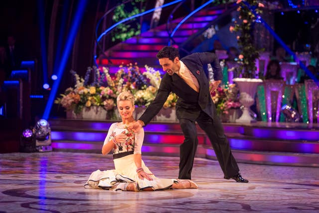 Ghadami and Bychkova take the Strictly stage