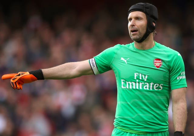 Petr Cech has played behind an improve defence (Nick Potts/PA Images)