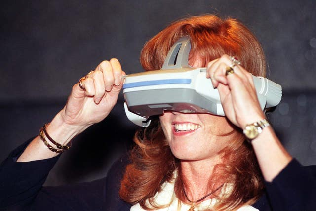 Duchess of York at Segaworld (Fiona Hanson/PA)