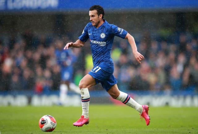 Chelsea's Pedro is set to leave Stamford Bridge