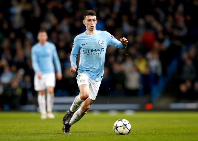 bf05552b921cf Manchester City midfielder Phil Foden has a big future ahead of him