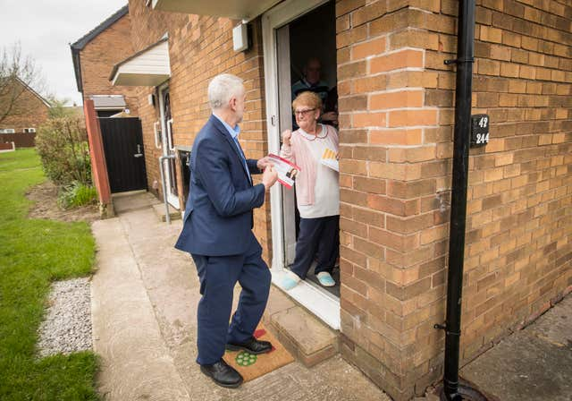 Corbyn visit to the Midlands