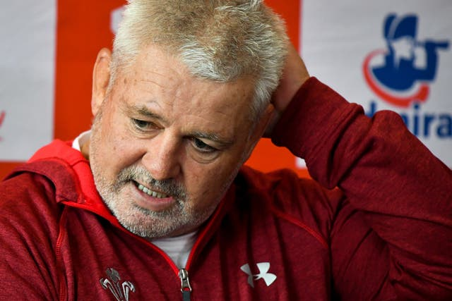 Warren Gatland wants the issue dealt with before the World Cup