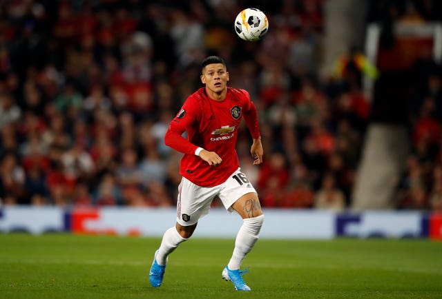 Manchester United defender Marcos Rojo is on loan at Estudiantes