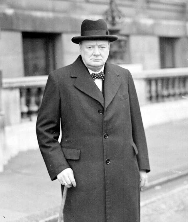 Wartime leader Sir Winston's Churchill's historic address to the nation to announce the end of the war in Europe, will form part of VE 75 events.PA Wire