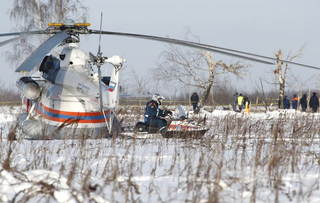 The flight data recorder has already been recovered from the crash site (AP)