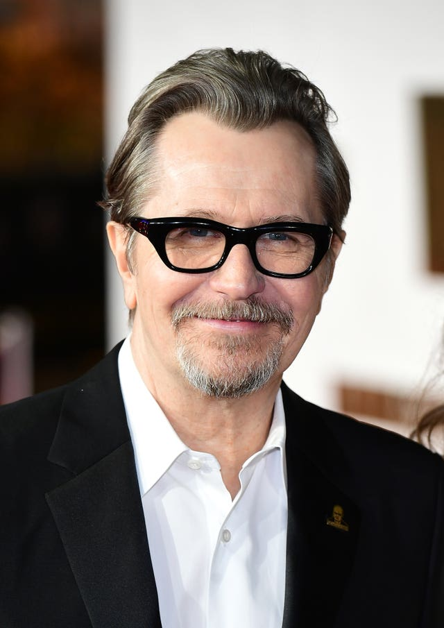 Gary Oldman was nominated for his role as Winston Churchill (Ian West/PA)