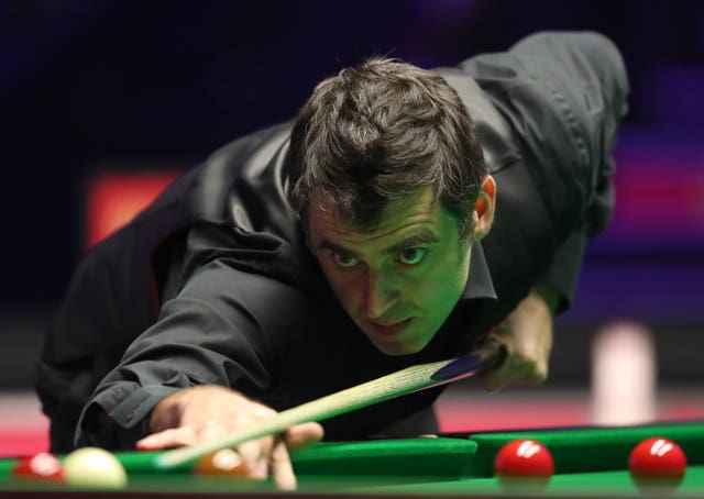 O'Sullivan was in good form on the table but not happy with standards off it