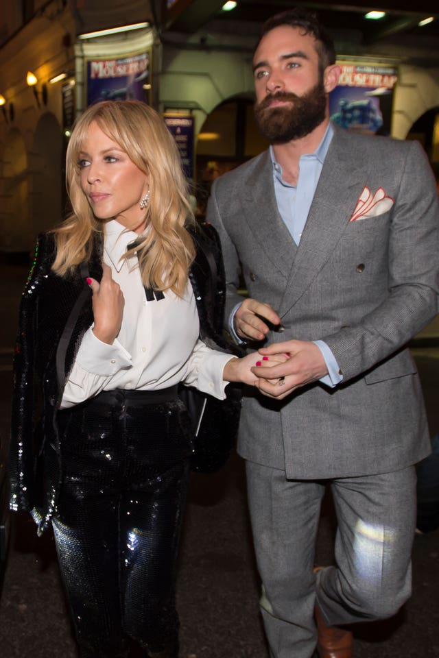 Kylie Minogue plays at The Ivy