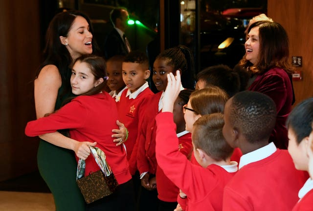 The Duke and Duchess of Sussex attend the WellChild Awards