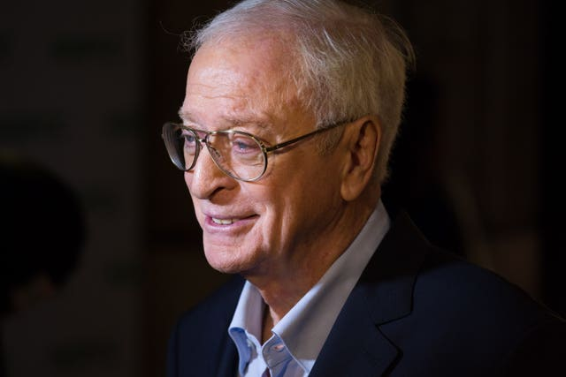 Sir Michael Caine interview – London