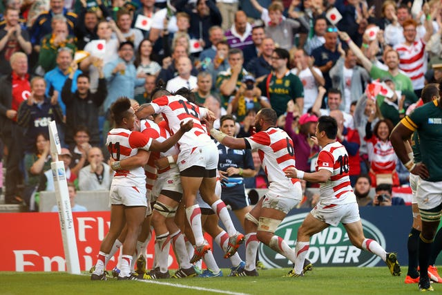 Japan beat South Africa in one of the great World Cup shocks.