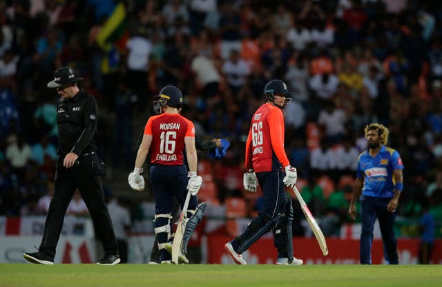 It was job done thanks to Eoin Morgan and Joe Root