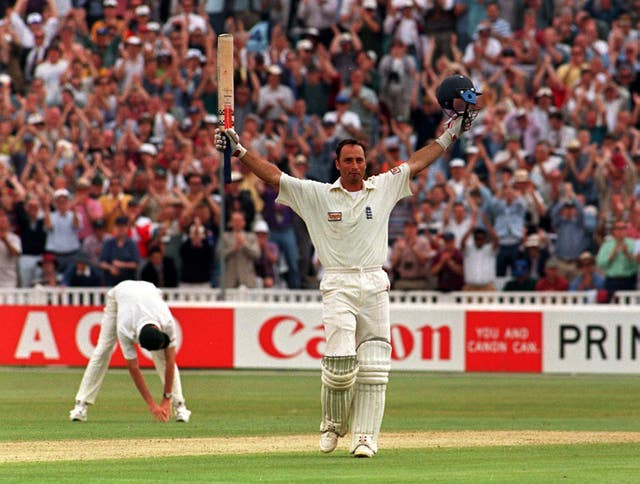 Hussain's Test-best score came against Australia in 1997, when his scored 207
