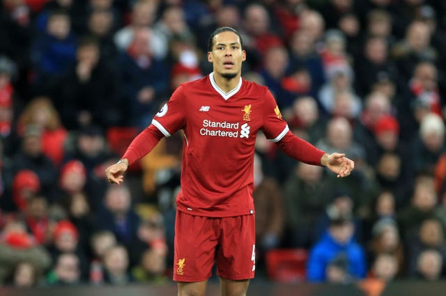 Van Dijk conceded the late penalty which led to Tottenham equalising on Sunday