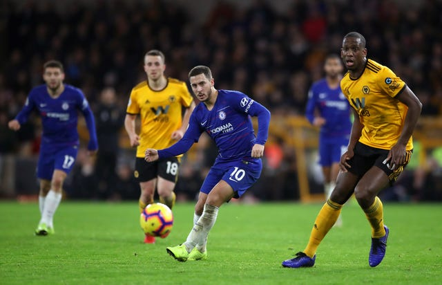 Chelsea were beaten by Wolves in December