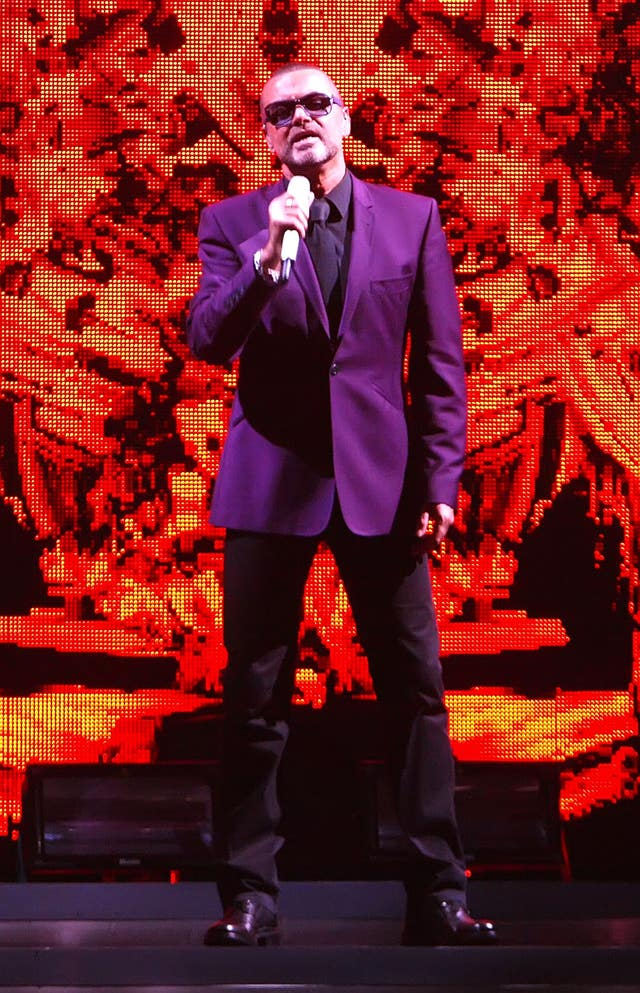 George Michael in concert – London