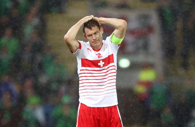 Lichtsteiner has 99 caps for Switzerland and will captain his country at the World Cup