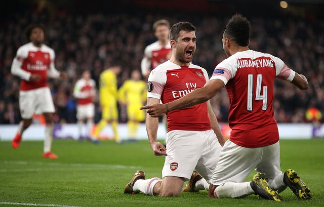 Arsenal progressed to the last 16 with victory over BATE Borisov