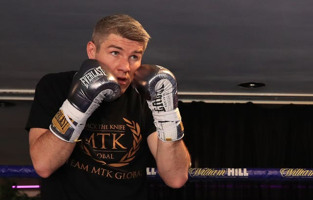 Liam Smith, pictured, was beaten by Saul 'Canelo' Alvarez four years ago (Peter Byrne/PA)