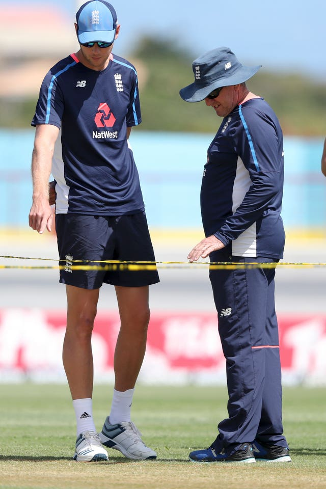 Stuart Broad, left, has been victim to England's suspect selection
