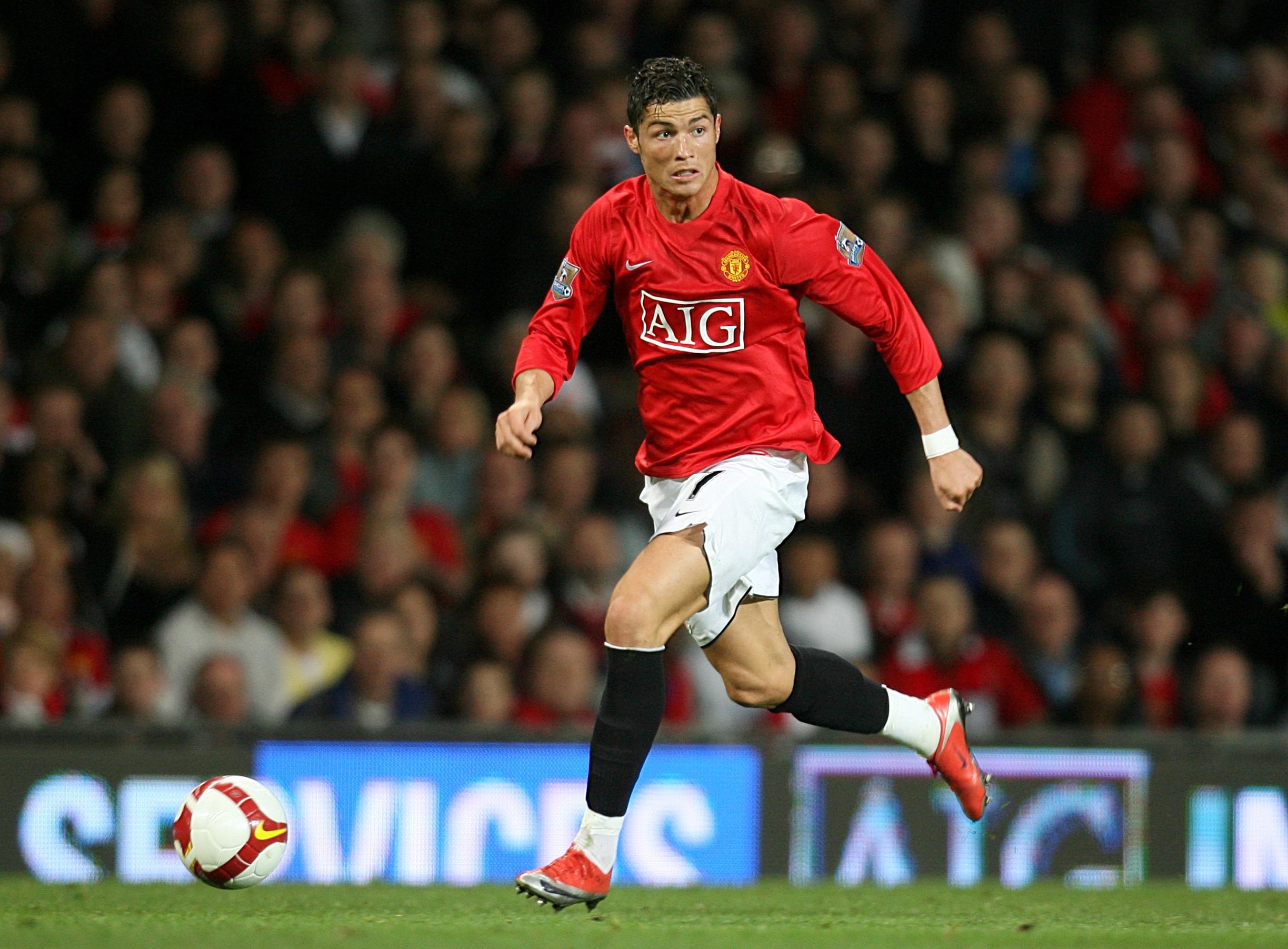 Cristiano Ronaldo enjoyed great success at Manchester United