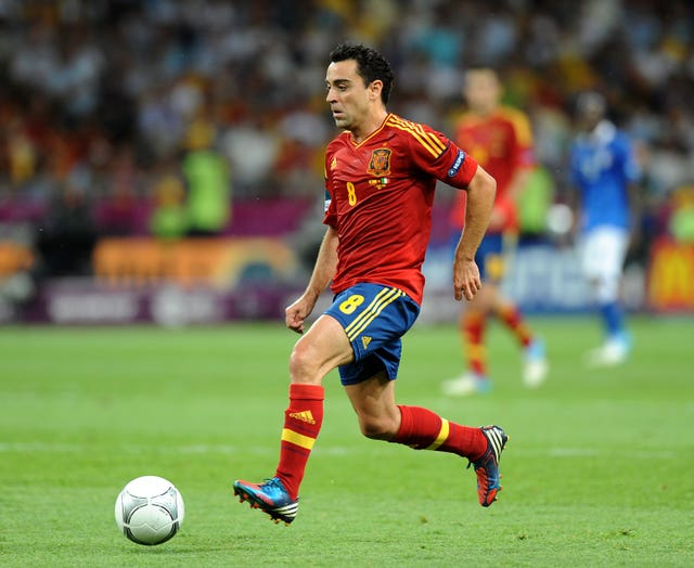 Xavi backed the decision of Luis Rubiales