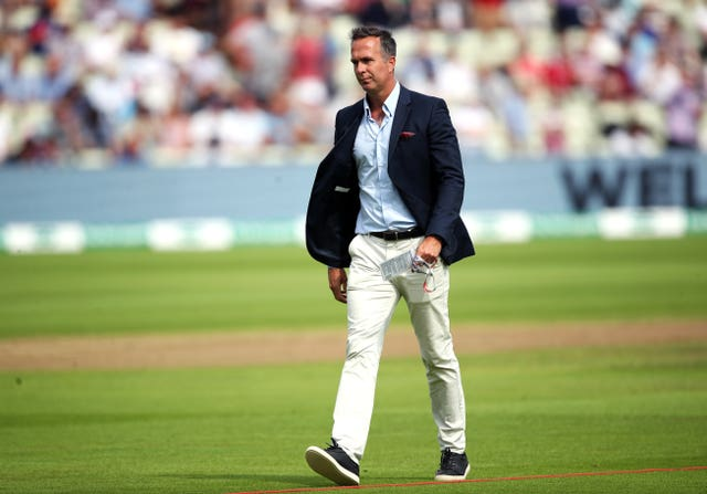 Former England captain Michael Vaughan, pictured, suggested Tom Banton skip the IPL and play in the County Championship to boost his chances of playing for England's Test team (Nick Potts/PA)