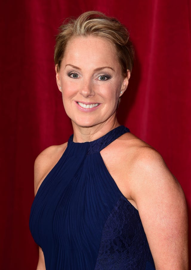 Sally Dynevor attending the British Soap Awards at the Palace Hotel, Manchester.